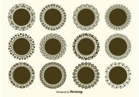 Round Decorative Vector Frame Vectors