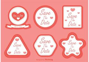 Save-the-date-vectors