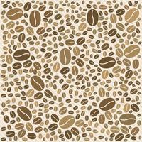Haricots vectoriels de café