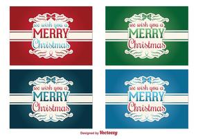 Kerst Vector Labels