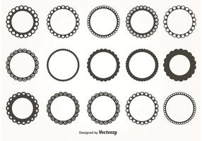 Round-scalloped-vector-frames