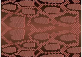 Vecteur de motif de peau de serpent