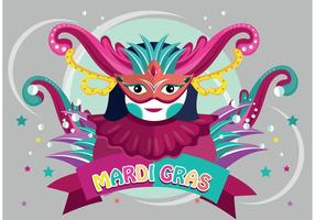 Vecteur de carnaval de mardi gras