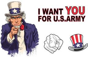 Uncle Sam Vector Pack