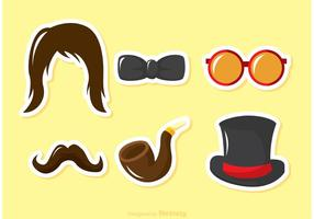 Fancy Dress Vector Costume Elements