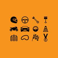Race Vector Icons