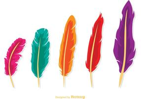 Isolated-feather-vector-pack