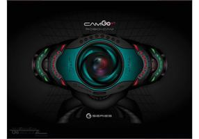 Futuristic Web Cam Vector