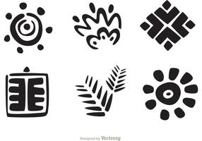 Hawaiiaanse Tribal Vector Pack 2