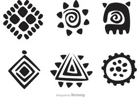 Hawaiian tribal vector pack 1