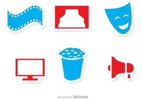Cinema Vector Icons Pack 3