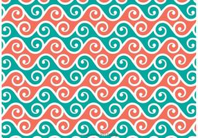 Swirly Patroon Vector