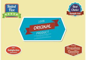 Free-label-vector-set
