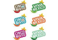 Cinco de Mayo Design Elements