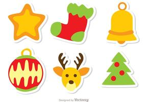 Christmas Decoration Vector Pack 1
