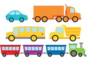 Vehicles Vector Pack