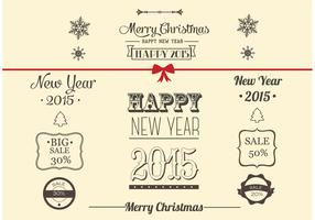 Free-vector-christmas-decoration-collection