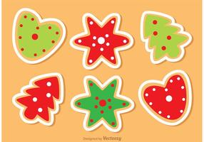 Christmas Cookies Vectors Pack