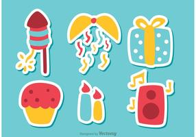 Happy New Year Vectors Pack 3