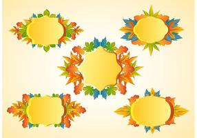 Thanks Giving Frame Vectors