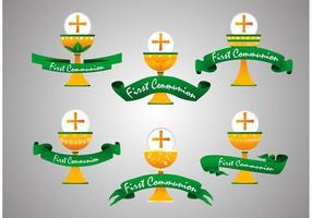 Vecteurs de la première communion