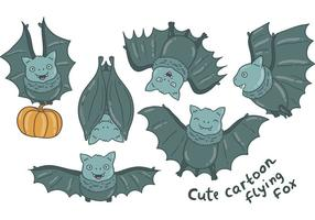 Gratis Flying Fox Vectors