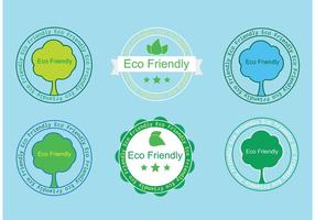 Gratis Eco Friendly Badges