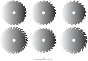 Pacote vectorial de lâminas de serra circular 1