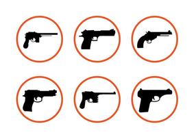 Várias formas de arma