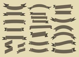 Gratis Ribbons Vector Collection