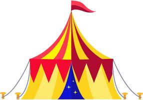 Vetor circo vintage
