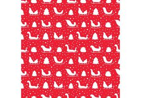 Fri Julens Slö Seamless Pattern