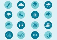 Free Vector Weather Icon Set