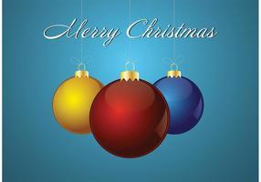 Gratis Vector Kerst Ornament Achtergrond