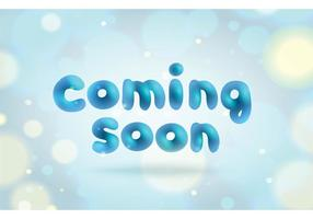 Free Coming Soon Vector