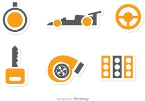 Racing Icon Vector Pack 2