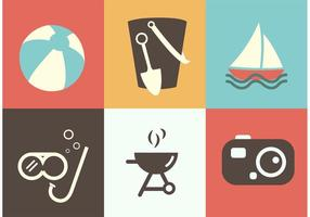Summer Icon Vectors