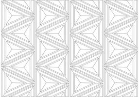 Geometric Linear Background Pattern  vector