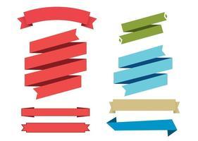 Vector Ribbon Set