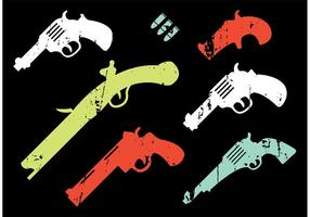 Collection-of-vintage-gun-shapes