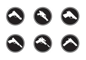 Gun Formas Iconos