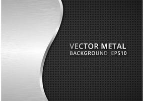Gratis Vector Carbon Fiber En Metal Achtergrond