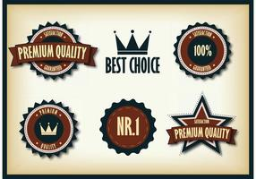 Regal Badge Vector Pack