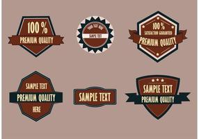 Premium Badge Set