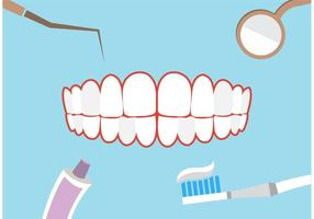 Dental theme background