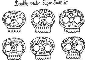 Vector de crânio de açúcar de Dia de Los Muertos livre