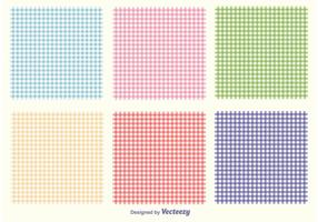 Gingham Pattern Set