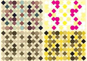 Free Diamond Pattern Vector Background