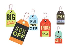 Sale Tag Label Vectors
