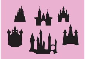 Princesa Castle Vector Set